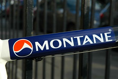 Montane logo on markus bike