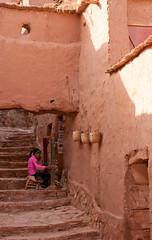 Ksar of Ait-Ben-Haddou, At Benhaddou (Ath Benhadu,   ), Souss-Massa-Dra, Asif Ounila, Maroc (Morocco) (Loc BROHARD) Tags: africa unescoworldheritagesite unesco morocco berber maroc maghreb caravan kasbah westernsahara highatlas aitbenhaddou atbenhaddou hautatlas telouet grandatlasmountains soussmassadra ounila almarib  elglaoui  achahoud athbenhadu  asifounila