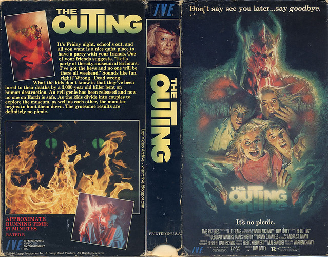 The Outing (VHS Box Art)