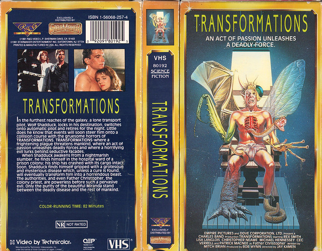 Transformations (VHS Box Art)
