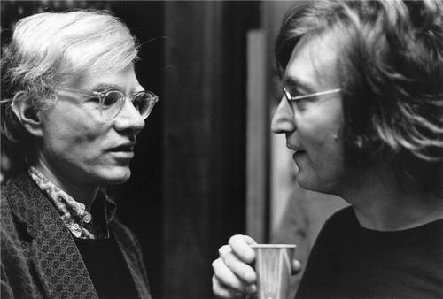 Andy Warhol & John Lennon