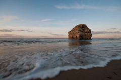 Marsden Rock (boscoppa) Tags: sunset sea beach rock nikon south sigma northsea 1020 tyneside marsden tyneandwear d300s