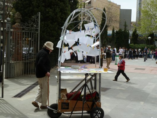 From French Village to Spanish City: The History of 'El Carrito', Plaza Fort Pienc's Mobile Participation Cart