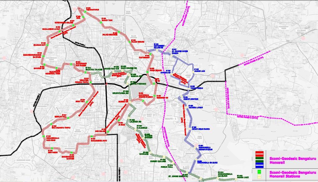Mono overlaid map