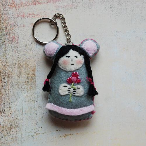 Myszowa dziewczynka
