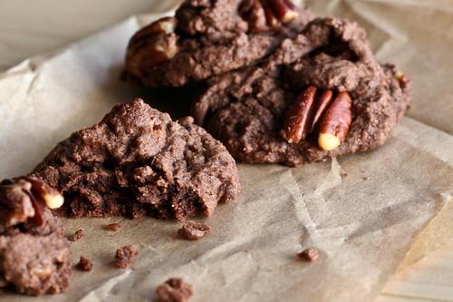 Mocha Pecan Cookies