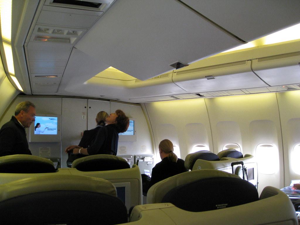 Air France Business Class / Flight 084