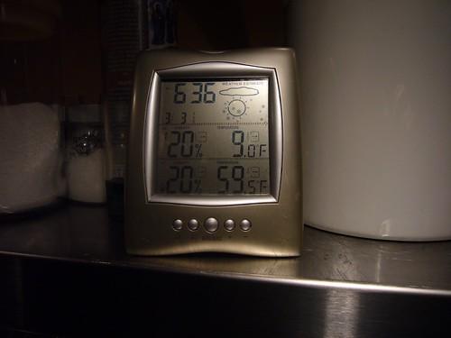 9 degrees