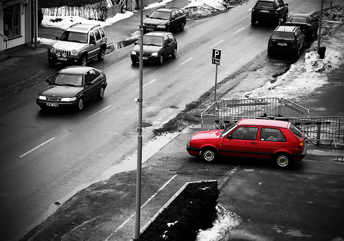 BW+RED