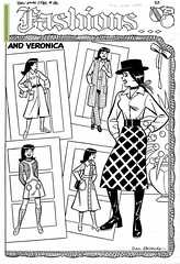 Betty and Veronica #180 pinup (Matthew Sutton (shooby32)) Tags: art comics betty veronica archie ronnie