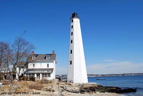 Lighthouse in New London