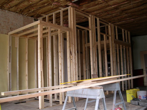 Utility / shower framing