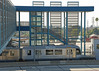 Gold Line (So Cal Metro) Tags: la losangeles metro lametro lacmta mta rail trolley tram lightrail goldline metrorail lrt lrv breda transit pasadena sangabrielvalley sgv station parkandride trainstation