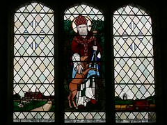 Stained glass, St. Giles, Chesterton