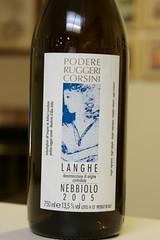 2005 Ruggeri Corsini Nebbiolo delle Langhe