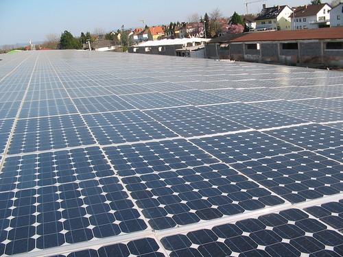 Photovoltaik so weit das Auge reicht