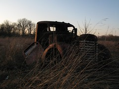 prairie truck (mereshadow) Tags: old light never truck rust afternoon grasses prairie sleeps vintagetrucks bondcountyillinois redballtrail