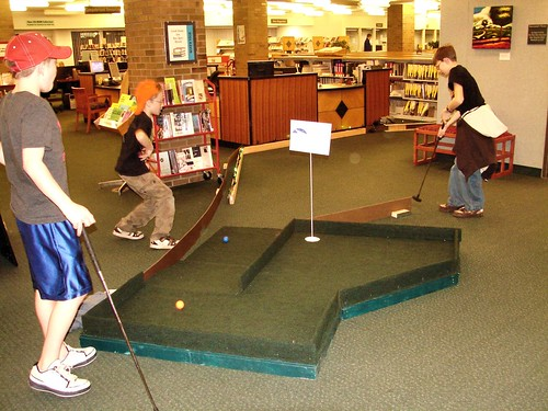 DGPL Library Mini Golf