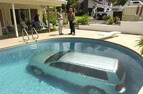 pool for the car