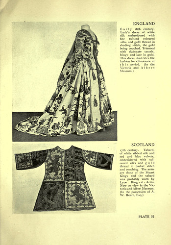 028- Traje de señora ingles siglo XVIII-Tabardo escoces siglo XVII