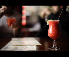 Day Eighty One (Dustin Diaz) Tags: sanfrancisco food bar dof yum drink bokeh sunday beverage straw tequila alcohol margarita 365 missiondistrict featured project365 dustindiazcom