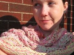 flower basket shawl