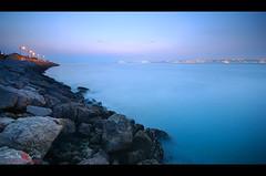 "The Blue sunset series (Paulo ""Santa Cruz"" Dias) Tags: blue sunset santacruz portugal d90 trafaria"
