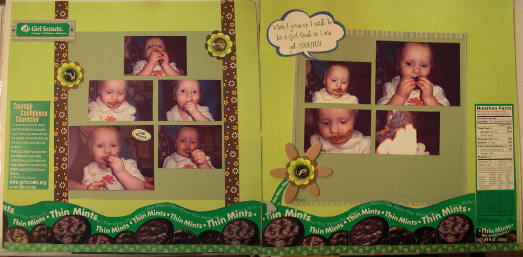 Green Challenge: Thin Mint Page