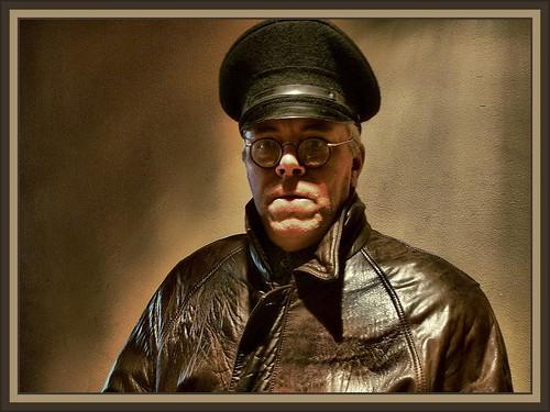 GESTAPO MAN  IN GERMANY - 1944