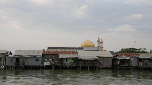 70.Boeng Kak Lake旁的水上屋 (2)
