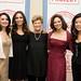 Marie Wilson with Maria Teresa Petersen, Rosario Dawson, Soledad Obrien and Andrea Wong