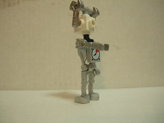 Cyberman Angle (Tardis Traveller) Tags: lego fig who mini doctor dalek minifig figures davros octor