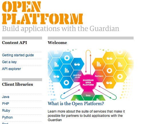 The Guardian Open Platform | guardian.co.uk