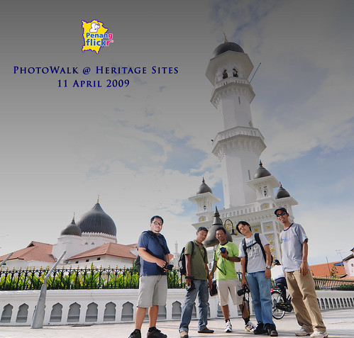Groupshot : Penang FLickr Photowalk @ Heritage Sites