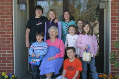 The Kids with Great Grandma (cpmclean) Tags: family easter cousins nelsons egghunting spanglers mcleans greatgrandmamclean greategrandma