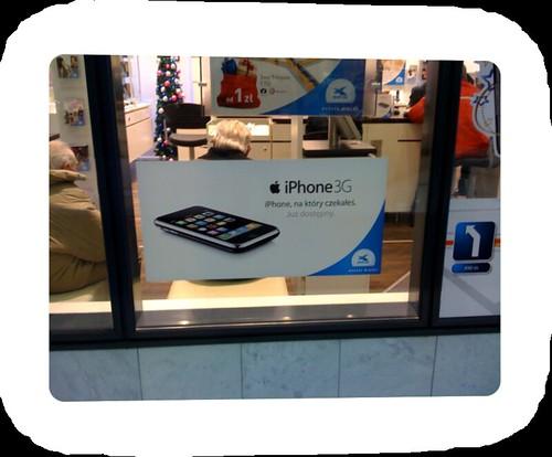 Internatioanle iPhone Werbung in Polen