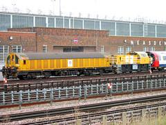Underground Locomotives (R~P~M) Tags: uk greatbritain england london electric train underground diesel metro unitedkingdom battery tram railway locomotive lightrail transplant lul schoma