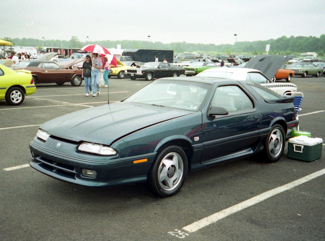 1993 turbo dodge mopar daytona carshow englishtownnj fwdmopar oldbridgetownshipracewaypark irocrt moparatlanticnationals
