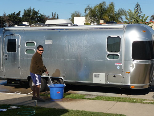 Washing the Airstream