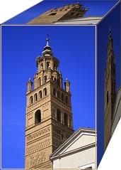 Torre de la Catedral (Miguel. (respenda)) Tags: towers zaragoza tours trme torri torres mudejar aragn tarazona catedraldetarazona