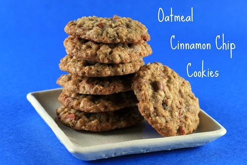 Food Librarian - Oatmeal Cinnamon Chip Cookies