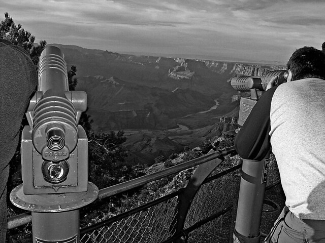 Tourists, Grand Canyon, Arizona