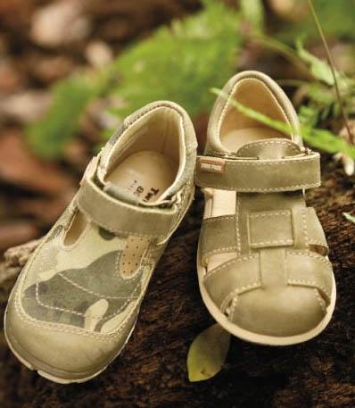 Calzado infantil verano 2009 Twinpass