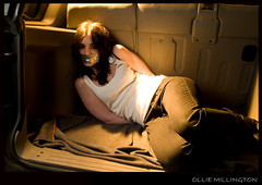 Kidnapped - 2 (Ollie Millington Photography [] com) Tags: lighting car boot trapped nikon shoot captured tape concept gaffer tiedup cinematic staged caught kidnap strobist