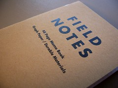 AEA Field Notes Notebook (Front)