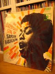 『Sarah Vaughan  /  The Explosive side of Sarah Vaughan』