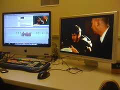 In the editing suite