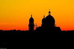 Faith (Photoshoparama - Dan) Tags: sunset faith catholicchurch grandrapids saintadalbert dsc2820 johnsongraphics photoshoparama danielejohnson crossroadonecom