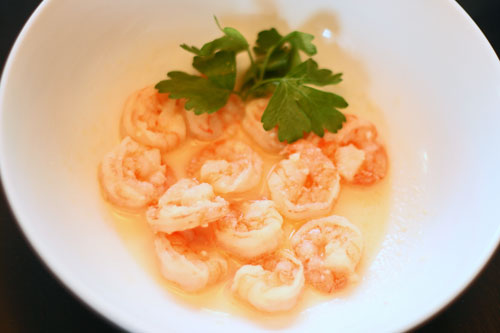Eat This: Shrimp in White Wine and Garlic Sauce
