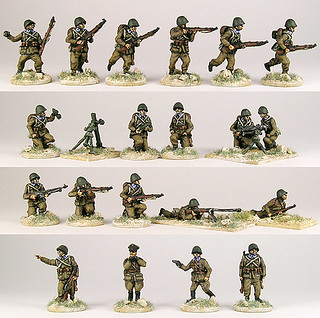 20mm Warmodelling Polish Infantry 1939 with Support Weapons
